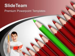 Pencils Sowing Innovative Idea Business Powerpoint Templates Ppt Themes And Graphics 0313