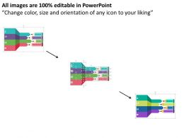 pencils_with_tags_and_icons_for_data_representation_flat_powerpoint_design_Slide02