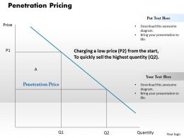 Penetration Pricing Powerpoint Presentation Slide Template