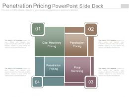 Penetration Pricing Powerpoint Slide Deck