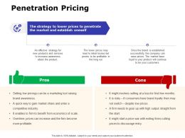Penetration Pricing Ppt Powerpoint Presentation Gallery Vector