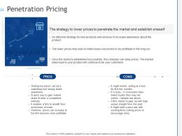 Penetration Pricing Ppt Powerpoint Presentation Summary Templates