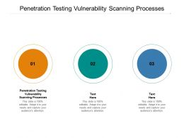 Penetration Testing Vulnerability Scanning Processes Ppt Powerpoint Presentation Inspiration Show Cpb