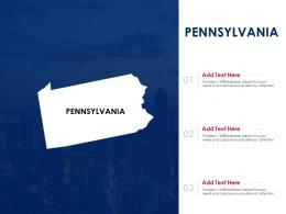 Pennsylvania Powerpoint Presentation PPT Template