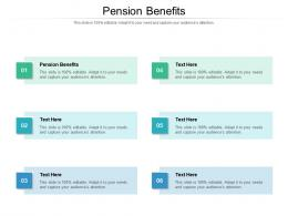 Pension Benefits Ppt Powerpoint Presentation Model Gallery Cpb