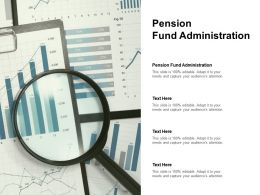 Pension Fund Administration Ppt Powerpoint Presentation Inspiration Model Cpb