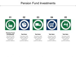 Pension Fund Investments Ppt Powerpoint Presentation Outline Slide Download Cpb