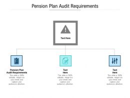 Pension Plan Audit Requirements Ppt Powerpoint Presentation Model Layout Cpb
