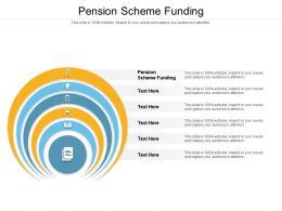 Pension Scheme Funding Ppt Powerpoint Presentation Portfolio Background Cpb
