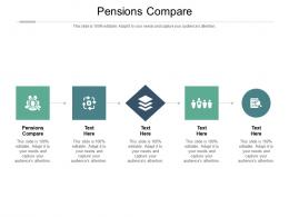 Pensions Compare Ppt Powerpoint Presentation Ideas Rules Cpb