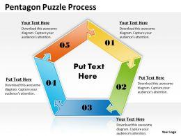 Pentagon Puzzle Process 6
