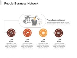 People Business Network Ppt Powerpoint Presentation Model Aids Cpb