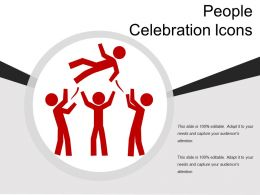 People Celebration Icons