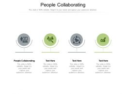 People Collaborating Ppt Powerpoint Presentation Model Objects Cpb