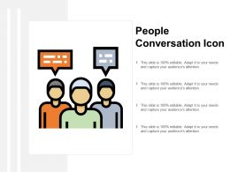 People Conversation Icon