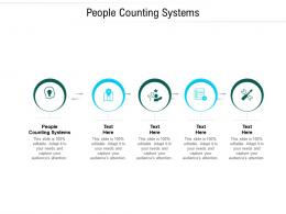 People Counting Systems Ppt Powerpoint Presentation Icon Introduction Cpb