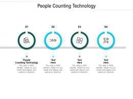 People Counting Technology Ppt Powerpoint Presentation Professional Designs Cpb