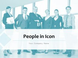 People In Icon Gear Management Marketing Strategy Planning Technology