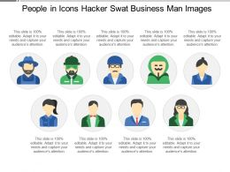 People In Icons Hacker Swat Business Man Images
