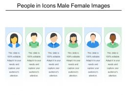 People In Icons Male Female Images