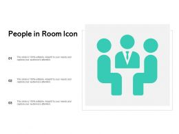 People In Room Icon