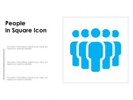 People In Square Icon