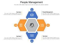People Management Ppt Powerpoint Presentation Show Background Image Cpb