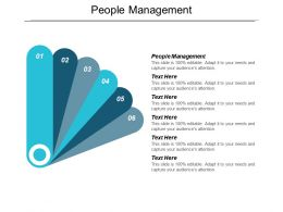 People Management Ppt Powerpoint Presentation Visual Aids Cpb