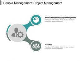 People Management Project Management Ppt Powerpoint Presentation Diagram Templates Cpb