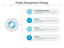 People Management Strategy Ppt Powerpoint Presentation Model Rules Cpb