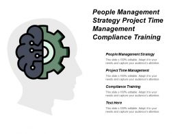 People Management Strategy Project Time Management Compliance Training Cpb