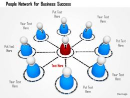 People Network For Business Success Image Graphics For Powerpoint