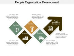 People Organization Development Ppt Powerpoint Presentation Summary Brochure Cpb