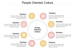 People Oriented Culture Ppt Powerpoint Presentation Show Summary Cpb