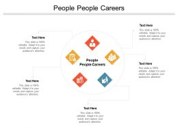 People People Careers Ppt Powerpoint Presentation Slides Icon Cpb