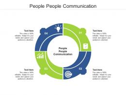 People People Communication Ppt Powerpoint Presentation Styles Files Cpb