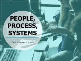 People Process Systems Linear Flow Rectangle Shape Business Procedures
