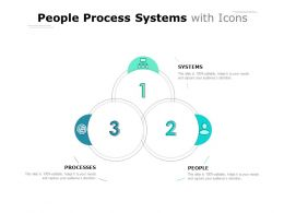 People Process Systems With Icons
