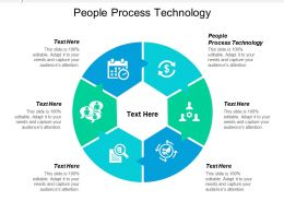 People Process Technology Ppt Powerpoint Presentation Ideas Graphics Pictures Cpb