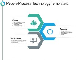 People Process Technology Ppt Slides Designs Download
