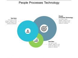 People Processes Technology Ppt Powerpoint Presentation Outline Background Cpb