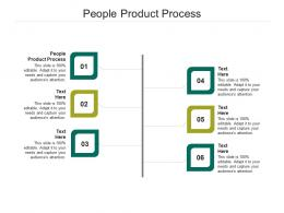 People Product Process Ppt Powerpoint Presentation Model Graphics Download Cpb