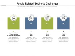 People Related Business Challenges Ppt Powerpoint Presentation Inspiration Templates Cpb