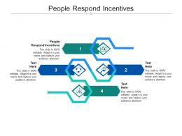 People Respond Incentives Ppt Powerpoint Presentation Model Slideshow Cpb