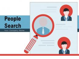 People Search Market Candidate Profile Monitoring Team Customers