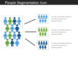 People Segmentation Icon