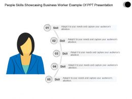 People Skills Showcasing Business Worker Example Of Ppt Presentation