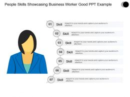 People Skills Showcasing Business Worker Good Ppt Example