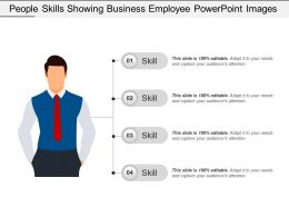 People Skills Showing Business Employee Powerpoint Images