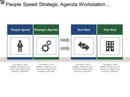 People Speed Strategic Agenda Workstation Leadership Patient Groups